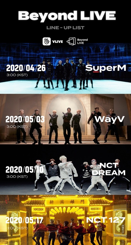 SuperM, WayV, NCT Dream, and NCT 127 to Kick Off