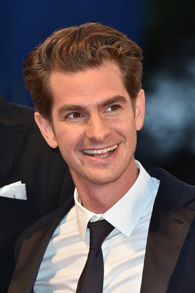 "Actor Andrew Garfield attended the premiere of ""Hacksaw Ridge"" during the 73rd Venice Film Festival at Sala Grande on Sept. 4 in Venice, Italy."