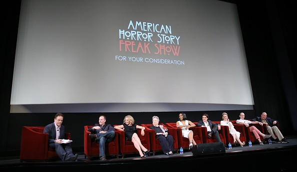 """The cast of FX's """"American Horror Story: Freak Show"""" attended the """"For Your Consideration"""" special screening and Q&A held at Paramount Studios on June 11, 2015 in Los Angeles, California."""