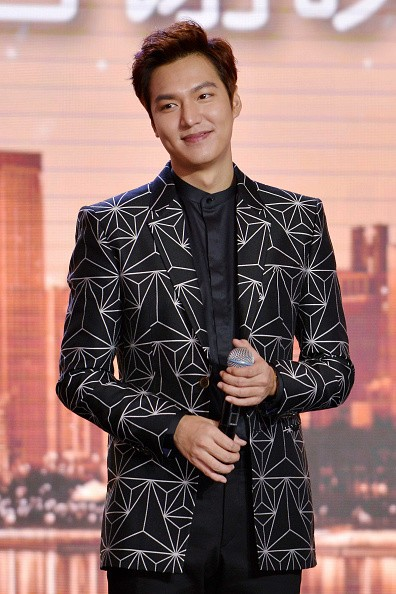 Actor Lee Min Ho during the appreciation dinner of LG in China.
