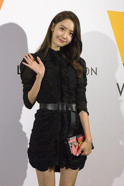 Girls Generation member YoonA in attendance during the Louis Vuitton Exhibition in Japan.