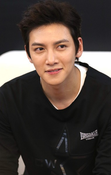 Actor Ji Chang Wook during commercial event in China.
