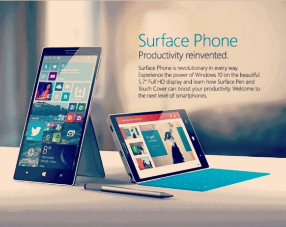 The Microsoft Surface Phone 2016 will be the latest flagship phone from Microsoft that awaits its most anticipated debut which according to rumors is Q2 of 2017.