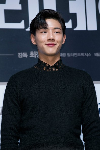 South Korean Ji Soo during press conference for 'One Way Trip'.