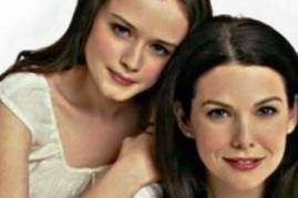 Alexis Bledel and Lauren Graham play daughter and mom in the hit TV series