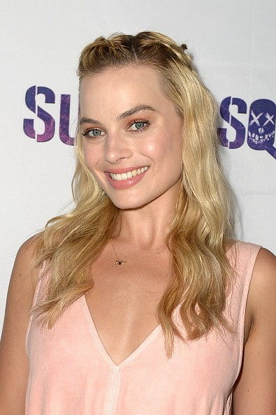 """Actress Margot Robbie attended the """"Suicide Squad"""" Wynwood Block Party and Mural Reveal on July 25 in Miami, Florida."""