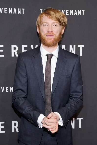 """Actor Domhnall Gleeson attended """"The Revenant"""" New York special screening on Jan. 6 in New York City."""