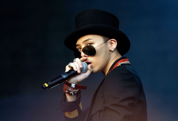 BIGBANG's G-Dragon performs during the 2011 Pentaport Rock Festival.