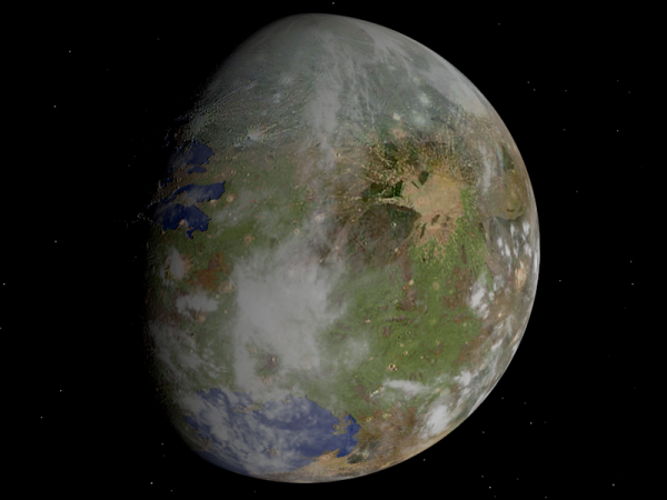 An artist's rendition of Nibiru. Conspiracy theorists believe that it will slam to Earth in October this year, however, NASA opposes the prediction saying it's just an internet hoax.