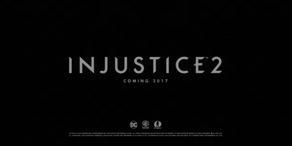 Injustice 2 was announced to release this coming 16th of March.