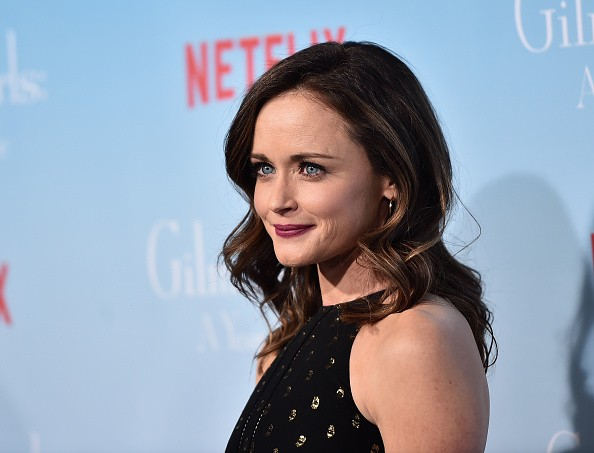 Actress Alexis Bledel attends the premiere of Netflix's 'Gilmore Girls: A Year In The Life' at the Regency Bruin Theatre.