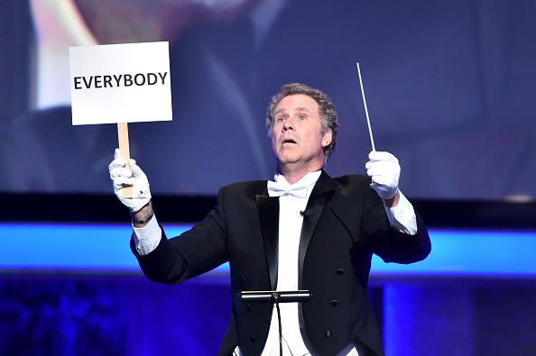 Actor Will Ferrell performed onstage during American Film Institute's 44th Life Achievement Award Gala Tribute show to John Williams at Dolby Theatre on June 9, 2016 in Hollywood, California.
