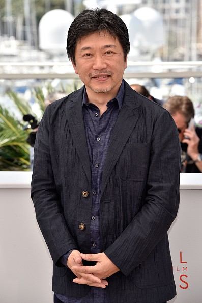 """Director Hirokazu Koreeda attended the """"After The Storm"""" photocall during the 69th Annual Cannes Film Festival at the Palais des Festivals on May 18, 2016 in Cannes, France."""
