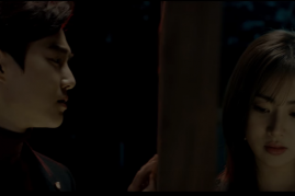 EXO's Suho and Kang Sora in