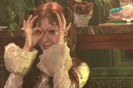 Seohyun playfully makes faces in the MU Beyond version of