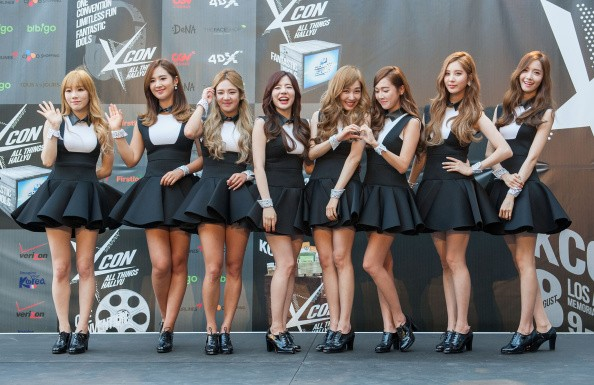 irls Generation attends KCON 2014 - Day 2 at the Los Angeles Memorial Sports Arena on August 10, 2014 in Los Angeles, California.