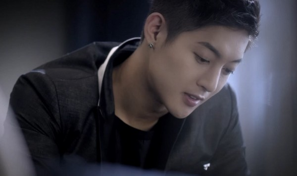 """Korean singer-actor Kim Hyun Joong in the official music video of """"Please."""""""