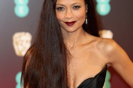 Thandie Newton attended the 70th EE British Academy Film Awards (BAFTA) at Royal Albert Hall on Feb. 12 in London, England.