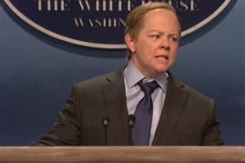 Melissa McCarthy returns as Sean Spicer on 'Saturday Night Live'
