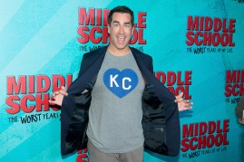 The image depicts the Hollywood actor Rob Riggle.