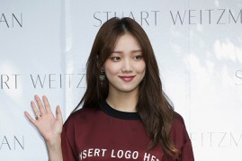 Lee Sung Kyung during the STUART WEITZMAN 2016 FW Presentation in Seoul, South Korea.