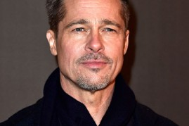 Brad Pitt attends the Paris premiere of the Paramount Pictures title 'Allied' on November 20, 2016 at Cinema UGC Normandie on November 20, 2016 in Paris, France.