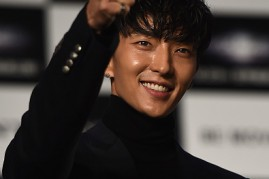 Lee Joon Gi in attendance during the premiere of 'Resident Evil: The Final Chapter' in Japan.