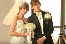 f(x)'s Victoria and 2PM's Nichkhun tied the knot on MBC's 'We Got Married.'