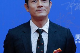Aaron Kwok arrives at the red carpet of the 7th Beijing International Film Festival on April 16, 2017 in Beijing, China.