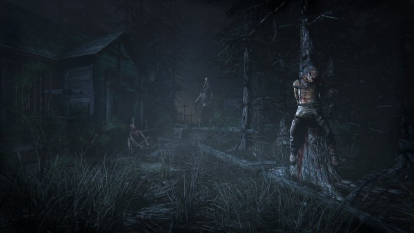 Screen cap from 'Outlast 2' the horror survival game from Red Barrels.