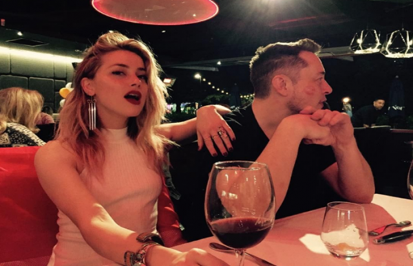 Elon Musk and Amber Heard pictured together while having a dinner in Australia.