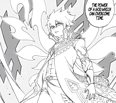Zeref transforms into a White Wizard in 'Fairy Tail'