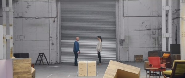 Two people come together for a conversation in the latest Heineken ad