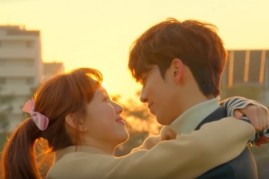 Lee Sung Kyung and Nam Joo Hyuk in the final episode of 'Weightlifting Fairy Kim Bok Joo.'