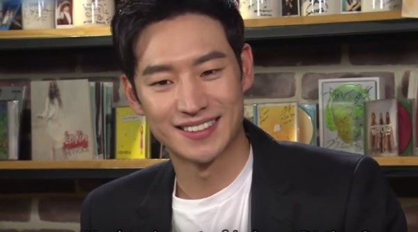 'Tomorrow With You' actor Lee Je Hoon during an interview with 'Entertainment Weekly.'