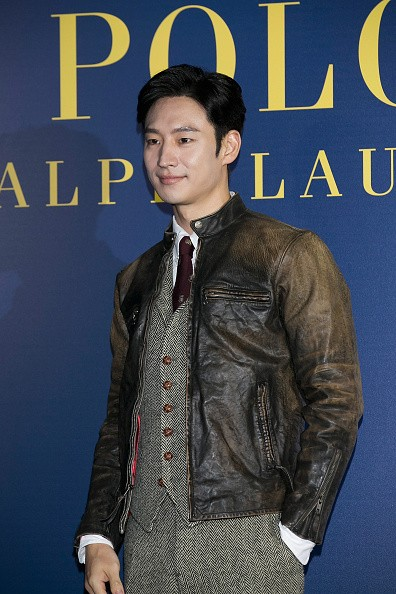 Actor Lee Jae Hoon during the photocall for Polo Ralph Lauren in Seoul.