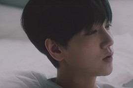 Super Junior's Yesung in the official music video of 'Hibernation.'