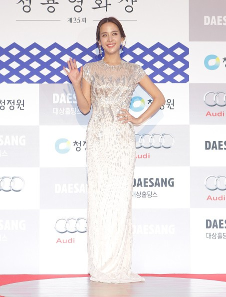 'Ms. Perfect' actress Cho Yeo Jeong in attendance during the 35th Blue Dragon Awards.