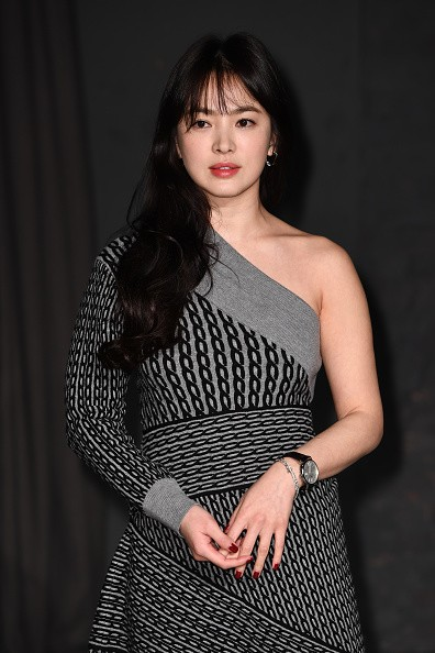 'Descendants of the Sun' actress Song Hye Kyo attends a fashion event in London.