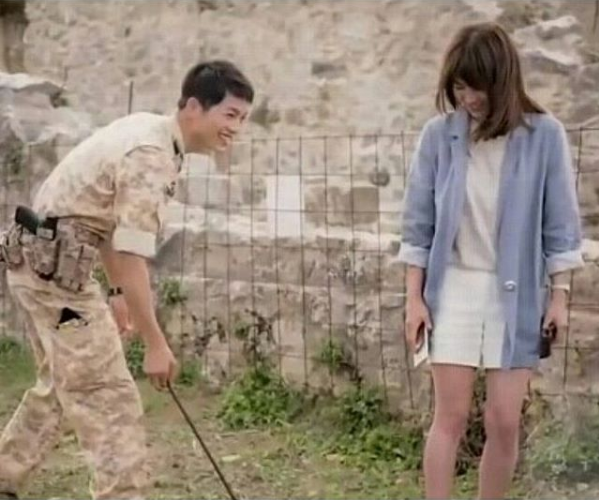 """Rumored couple Joong Ki and Hye Kyo headlined """"Descendants of the Sun,"""" which was a phenomenon not only in Korea but especially in China, where the show broke records in terms of viewership."""