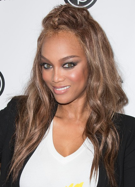 Model Tyra Banks attends the 4th Annual Beautycon Festival Los Angeles at the Los Angeles Convention Center on July 9, 2016 in Los Angeles, California.